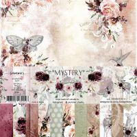 "Дизайнерски комплект хартии ""Mystery"", 20см, Summer Studio"