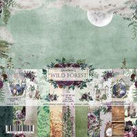 "Дизайнерски комплект хартии ""Wild forest"", 20см, Summer Studio"