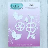 "Щанци за изрязване ""Cotton"", Lady E Design"