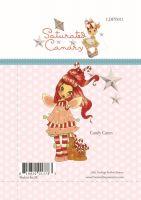 """Прозрачен печат """"Candy Canes"""", LDRS"""