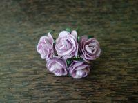 Рози, светлолилави, 25мм