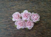Рози, светлорозови, 25мм