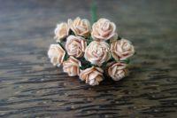 Рози, цвят капучино, 10мм