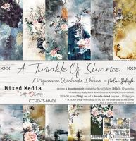 """Дизайнерски комплект хартии """"A Twinkle of Sunrise"""", 30.5см, Craft o'Clock"""