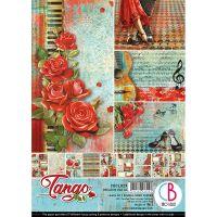 """Дизайнерски блок """"Tango"""", А4, Ciao Bella"""
