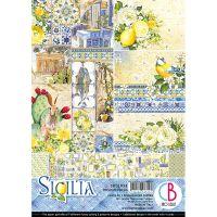 "Дизайнерски блок ""Sicilia"", А4, Ciao Bella"