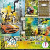 """Дизайнерски комплект """"Start Your Engines"""", 30см, Ciao Bella"""