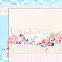 """Дизайнерски лист хартия """"Нещо сладко"""" -6 - 30.5см, Lemoncraft"""