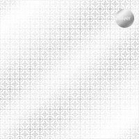 "Дизайнерски ацетатен лист ""Деко кръгчета-сребристи"", Kora Projects"