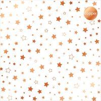 "Дизайнерски ацетатен лист ""Звезди-медни"", Kora Projects"