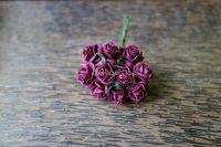 Рози, бургунди, 15мм