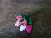 Лалета, розов микс, 12мм
