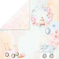 """Дизайнерски лист хартия """"Бебешки играчки"""" -6 - 30.5см, Craft&You Design"""