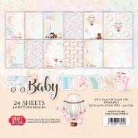 """Дизайнерско блокче хартии """"Бебешки играчки"""", 15см, Craft&You Design"""
