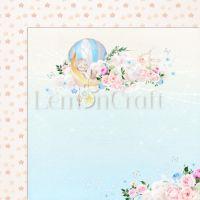 """Дизайнерски лист хартия """"Baby Boom"""" -2 - 30.5см, Lemoncraft"""