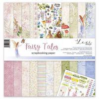 "Дизайнерски комплект хартии ""Fairy Tales"", 30см, Laserowe Love"