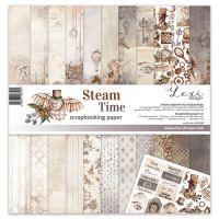 "Дизайнерски комплект хартии ""Steam Time"", 30см, Laserowe Love"