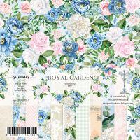 """Дизайнерски комплект хартии """"Royal garden"""", 20см, Summer Studio"""