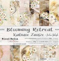 "Дизайнерски комплект хартии ""Blooming Retreat"", 30.5см, Craft o'Clock"