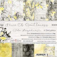 """Дизайнерски комплект хартии """"Force of Gentleness"""", 20см, Craft o'Clock"""