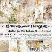 """Дизайнерски комплект хартии """"Bittersweet Heights"""", 15см, Craft o'Clock"""