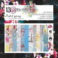 "Дизайнерски комплект хартии ""Pastel Spring"", 15см, 13@rts"
