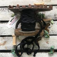 Панделка - черна, сатен