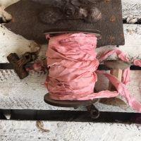Панделка - розова пудра, сатен