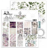 "Дизайнерски комплект хартии ""A Beautiful Noise"" - 30см, ABStudio"