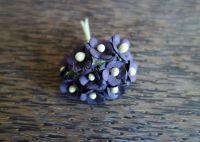 Цветенца, виолетови, 15мм