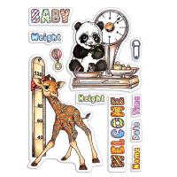 "Дизайнерски печати ""Baby Height & Weight"", Ciao Bella"