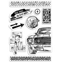 "Дизайнерски печати ""Ride Hard"", Ciao Bella"
