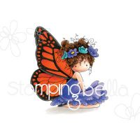 """Гумен печат """"Bess The Butterfly"""", Stamping Bella"""