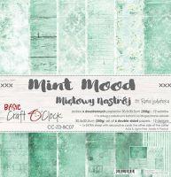 "Дизайнерски комплект хартии ""Basic 07 - Mint Mood"", 30.5см, Craft o'Clock"