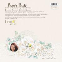 """Дизайнерски комплект хартии """"Sentimental"""", 30см, Lemoncraft"""