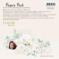 """Дизайнерско блокче хартии """"Sentimental"""", 15см, Lemoncraft"""