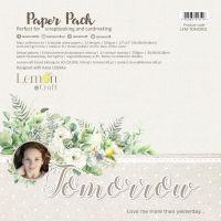 """Дизайнерски комплект хартии """"Tomorrow"""", 30см, Lemoncraft"""