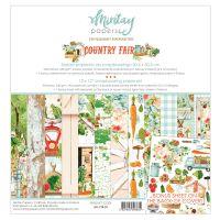 "Дизайнерски комплект хартии ""Country Fair"", 30.5см, Mintay Papers"