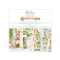 "Дизайнерско блокче хартии ""Country Fair"", 15см, Mintay Papers"