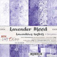 """Дизайнерски комплект хартии """"Basic 09 - Lavender Mood"""", 15см, Craft o'Clock"""