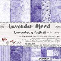 """Дизайнерски комплект хартии """"Basic 09 - Lavender Mood"""", 20см, Craft o'Clock"""