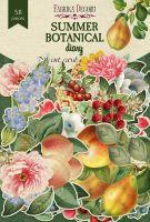 "Дизайнерски хартиени елементи ""Summer botanical diary"", Fabrika Decoru"
