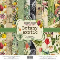 "Комплект дизайнерски хартии ""Botany exotic"", 20см, Fabrika Decoru"