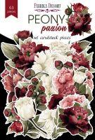 "Дизайнерски хартиени елементи ""Peony passion"", Fabrika Decoru"