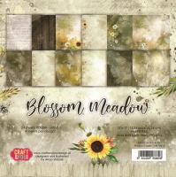 """Дизайнерско блокче хартии """"Blossom Meadow"""", 15см, Craft&You Design"""