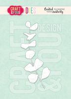 Дизайнерска щанца за изрязване на евкалиптова клонка, Craft&YouDesign