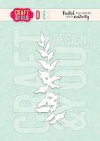 Дизайнерска щанца за изрязване на клонка папрат, Craft&YouDesign