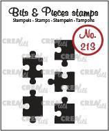 Прозрачни печати №213 - Crealies