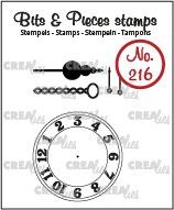 Прозрачни печати №216 - Crealies