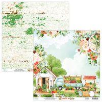 "Дизайнерски лист хартия ""Country Fair""-03, Mintay Papers, 30.5см"
